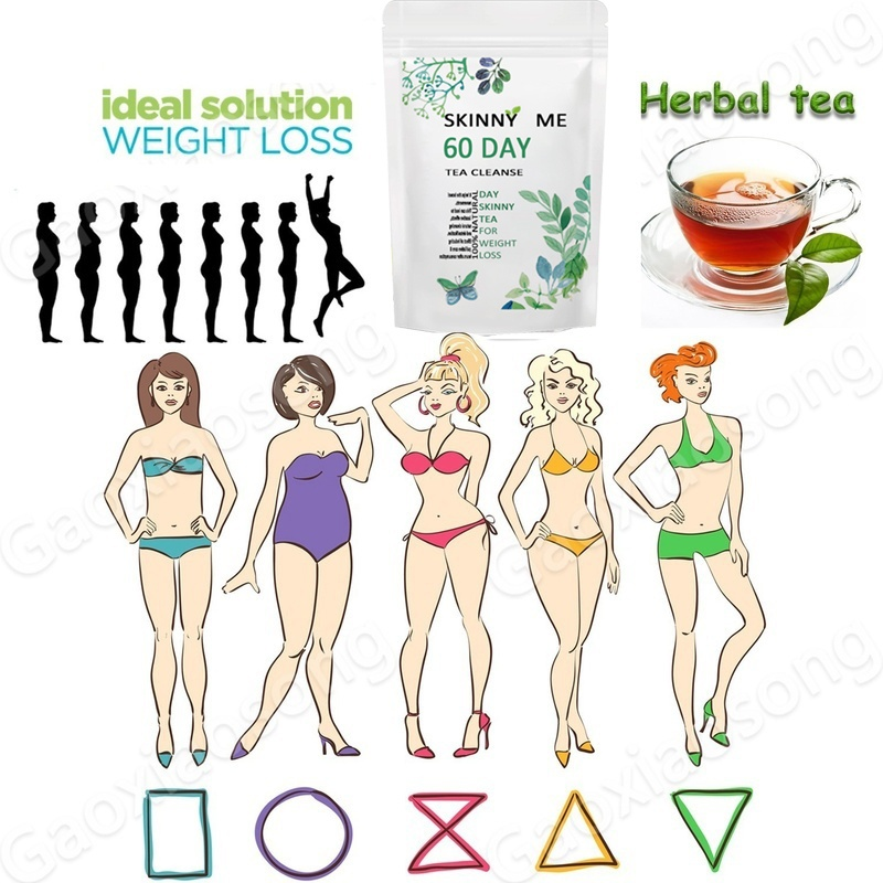 60 days high quality mixed burning tea natural herbal weight loss belly fat effective fat burning weight loss, suitable for weight loss and detoxification tea (60/40/20/10 day tea)