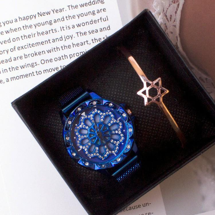 Rotating magnetic watch