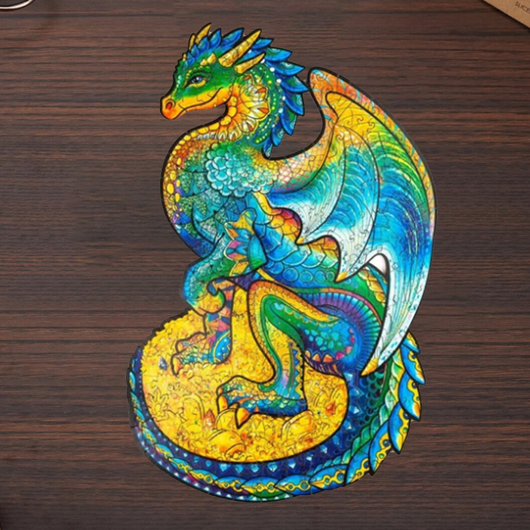 40% OFF-Magic Wooden Jigsaw Puzzle