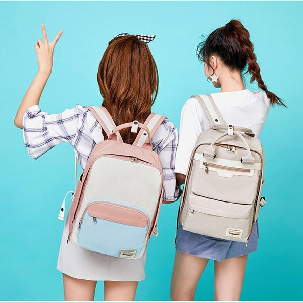 Two-Sides Multi-Pocket Fashion Backpack