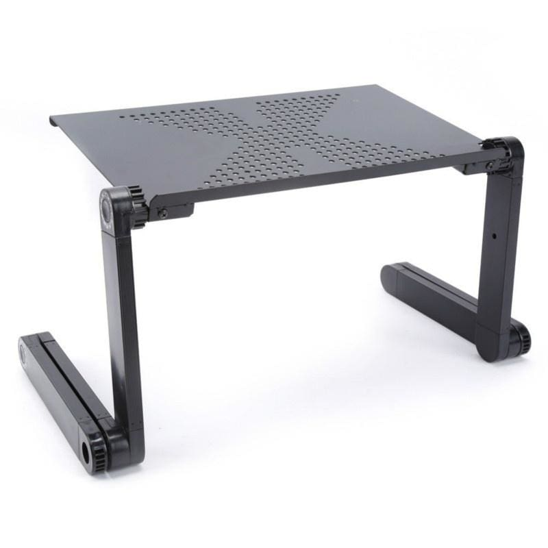 Portable Folding Breakfast Table Laptop Computer Tray Home Use Assembled Multi-function Folding Table
