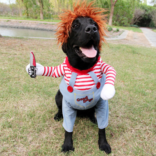 Deadly Doll Dog Costume