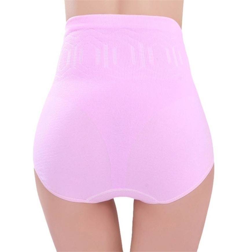 Women Seamless Tummy Belly Control Waist Slimming Shapewear Shaper Panty Panties Girdle Underwear Tummy Control Panties Knicker