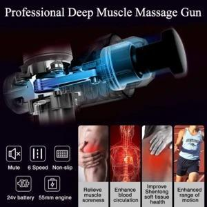 LAST 3 DAYS $49.99!!!-4 In One,Relieving Pain,3 Speed Setting Body Deep Muscle Massager