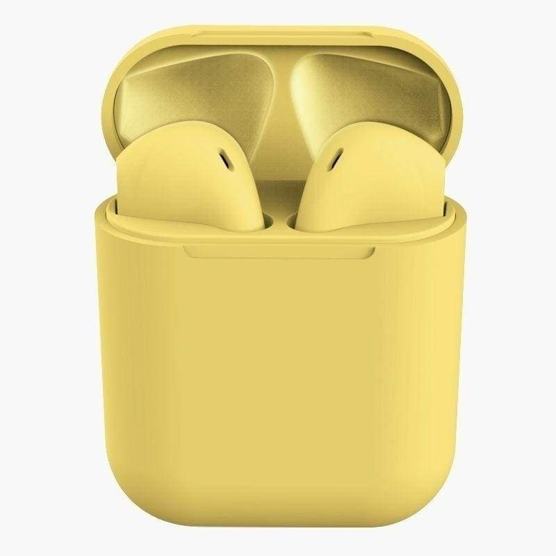 inpods TWS Wireless Bluetooth 5.0 Smart Touch Earbuds Super Bass Stereo Sports Headphone With Charging Box for Android IOS Smartphones