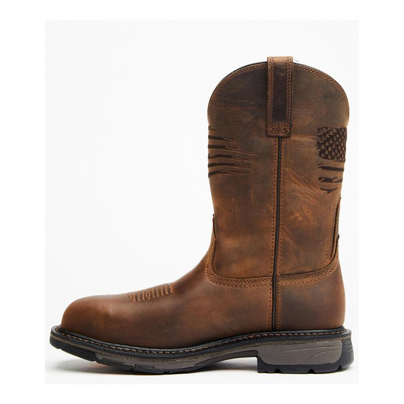 Men's Liberty Western Work Boots Composite Toe