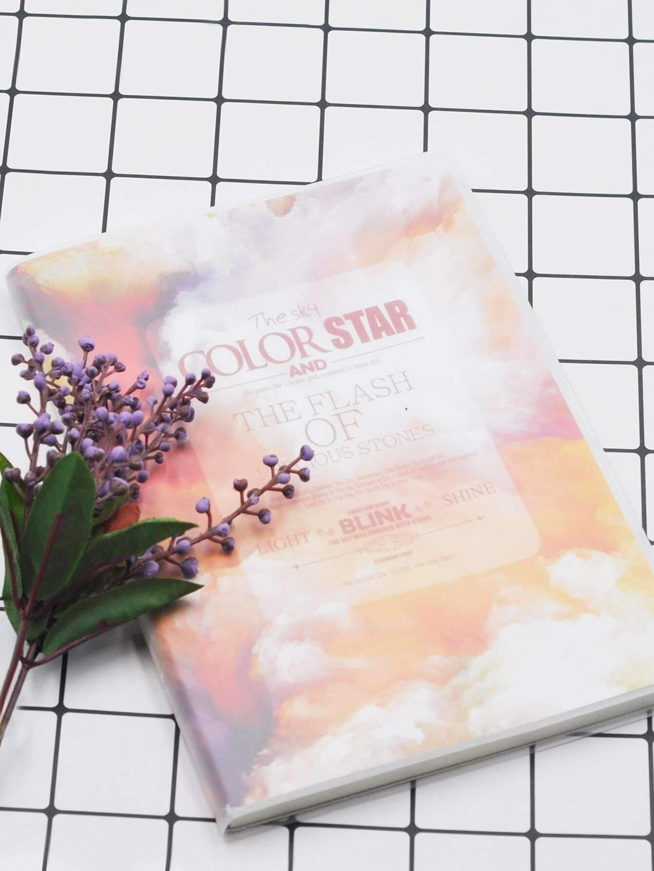 Random Starry Sky Notebook 1pack