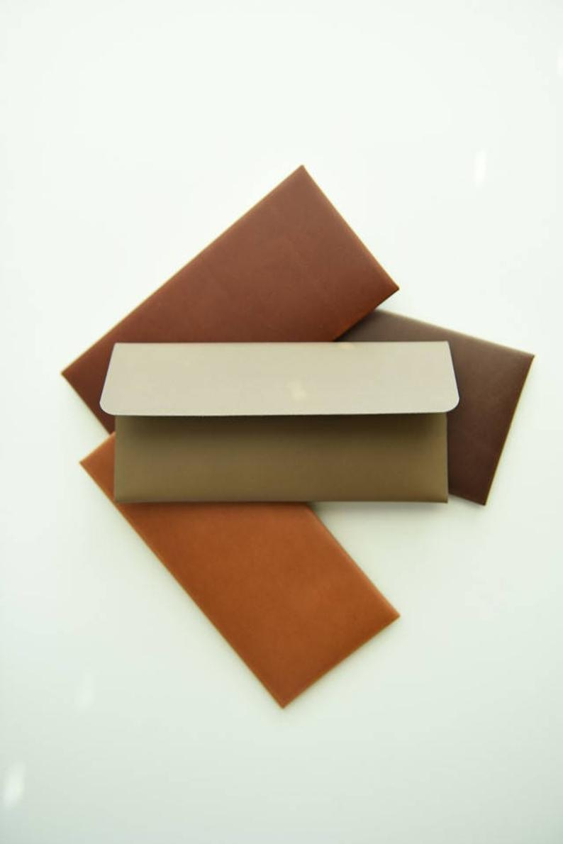 Leather Envelope        Update your settings