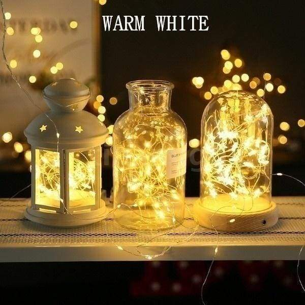 2/6/12/24 Packs 2M 20Leds Warm White Multicolor Fairy String Light Bottle Cork Shaped Lamp With Battery for Christmas Party Decoration
