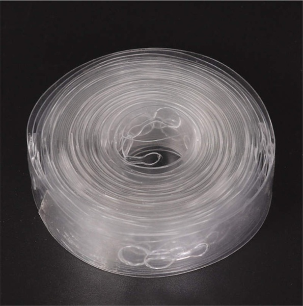 2 Pcs 5M Transparent Party Supplies DIY Balloon Decorating Strip Connect Chain for Celebration Birthday Party Wedding Baby Shower Decoration Valentines Day Event & Party Supplies