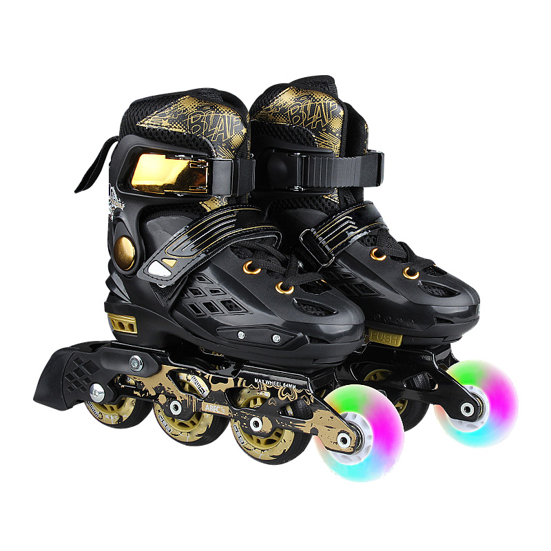 Flash Roller Skates Fit Beginners