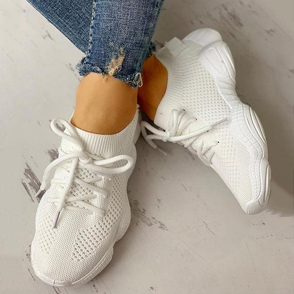 Mokoshoes Net Surface Breathable Non-Slip Sneakers