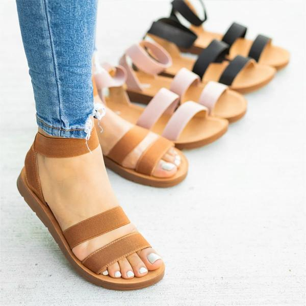 Bonnieshoes Women Casual Comfortable Flats Sandals