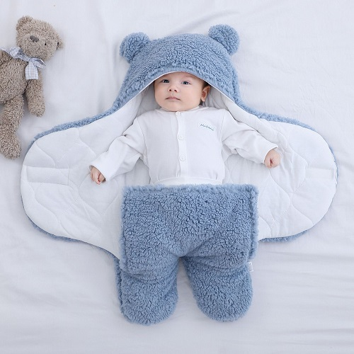 🎅🎄Ultra-Soft Fluffy Baby Sleeping Bag🎅🎄
