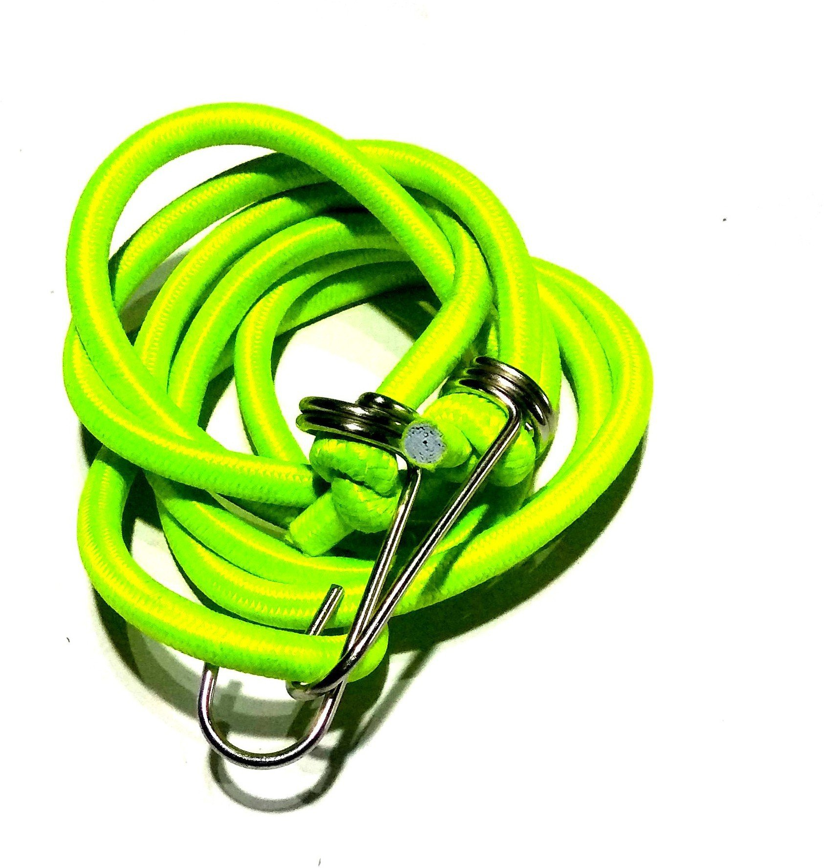 MK Nawani Elastic Luggage Tying Rope with Hooks (Pack of 1) Colour May Vary Yellow(Length: 69 m, Diameter: 0.5 mm)