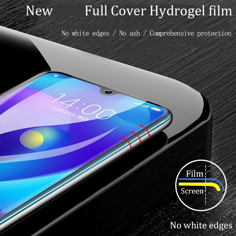 2PCS Screen Protector Hydrogel Film For Huawei P30 P30Pro P20 P20Lite P20Pro Mate20 Mate20Lite Mate20Pro For iPhone X Xs Xr Xs Max Protective Film For Samsung Galaxy S10 S10Plus S10e S10(5G) S9 S9Plus S8 S8Plus Note8 Note9 Note10 Note10Pro Not Glass
