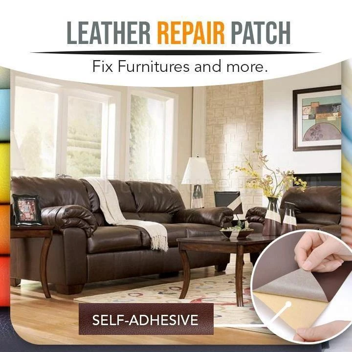 Leather Repair Self-Adhesive Patch(2 pieces set)