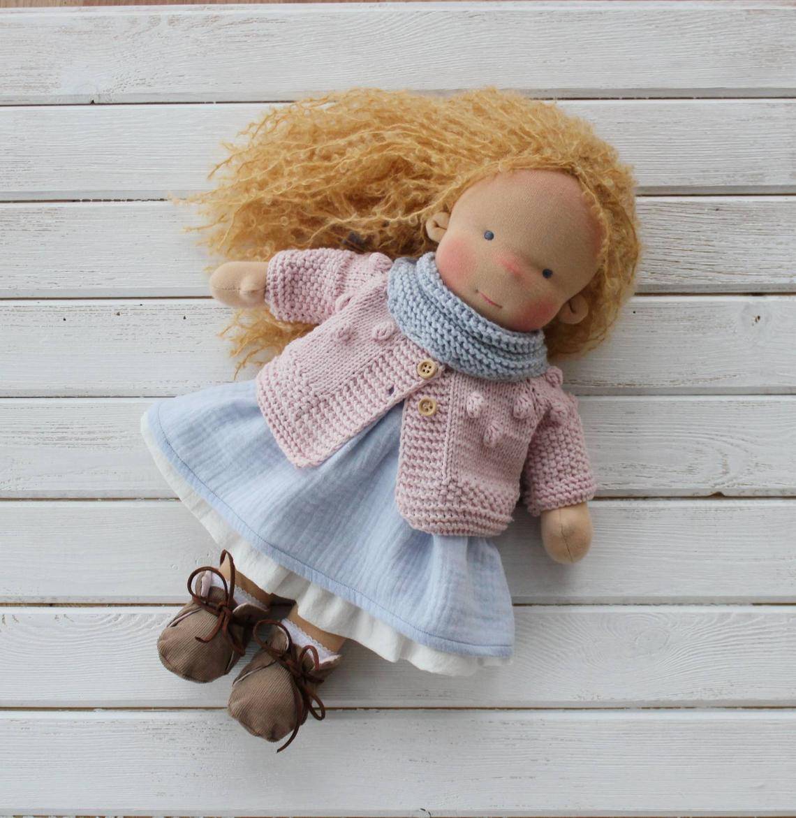 Waldorf Doll With Big Set Of Clothes(PRE ORDER.NEXT SHIPPING DAY 7 DAYS)