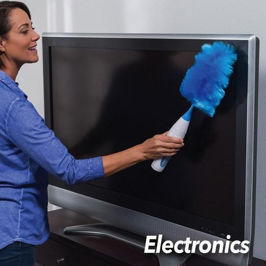2020 New Upgrade Electric Spin Duster