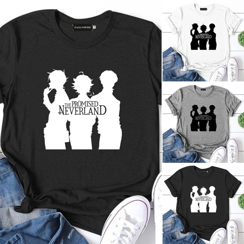 The Promised Neverland Anime Shirt Harajuku Style