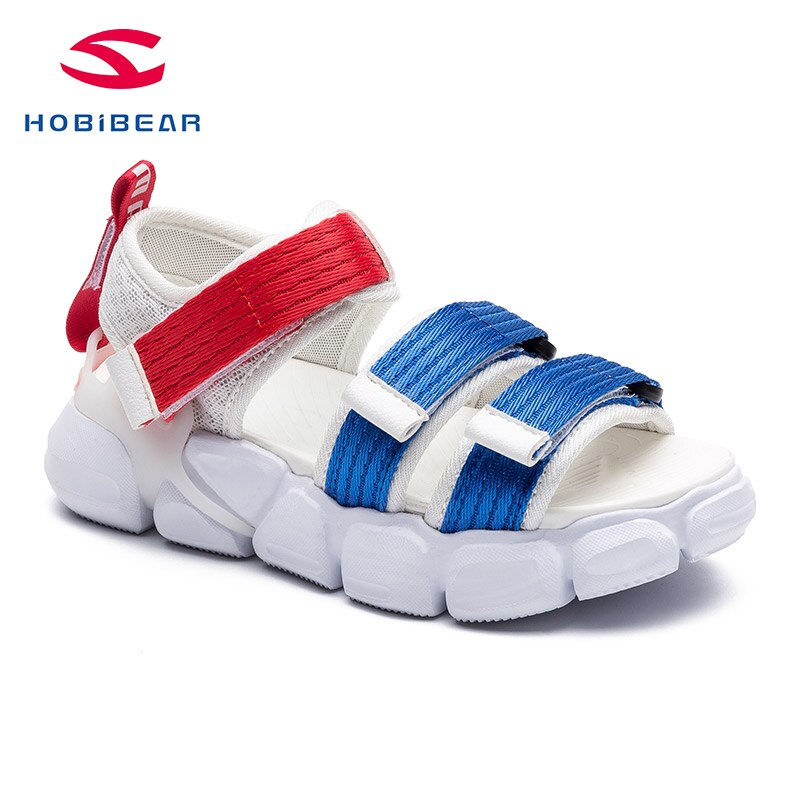 HOBIBEAR Summer Kids Shoes Brand Closed Toe Toddler Boys Sandals Outdoor Water Boys Shoes GTS101
