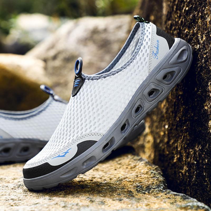 Men Honeycomb Mesh Quick Drying Beach Water Shoes