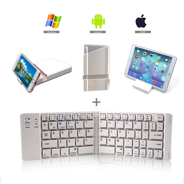 Portable mini wireless keyboard-universal for mobile phones and tablets