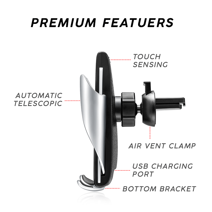 Auto Wireless Charger Car Mount