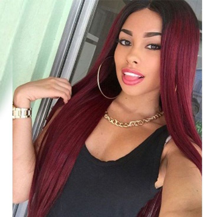 Luna N07 Affordable Extra Long Straight Wig for Black Women