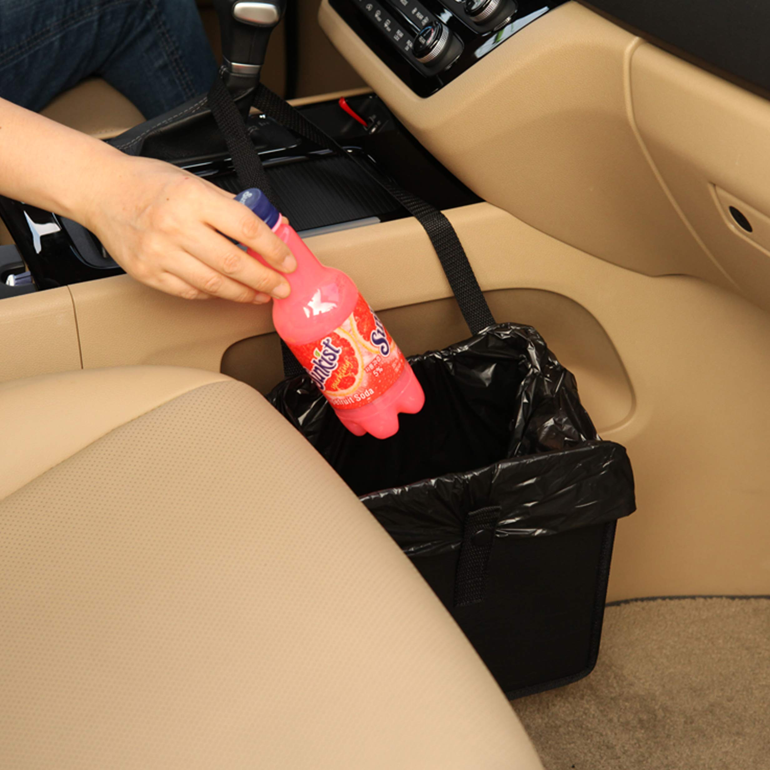 Foldable Car Garbage Can