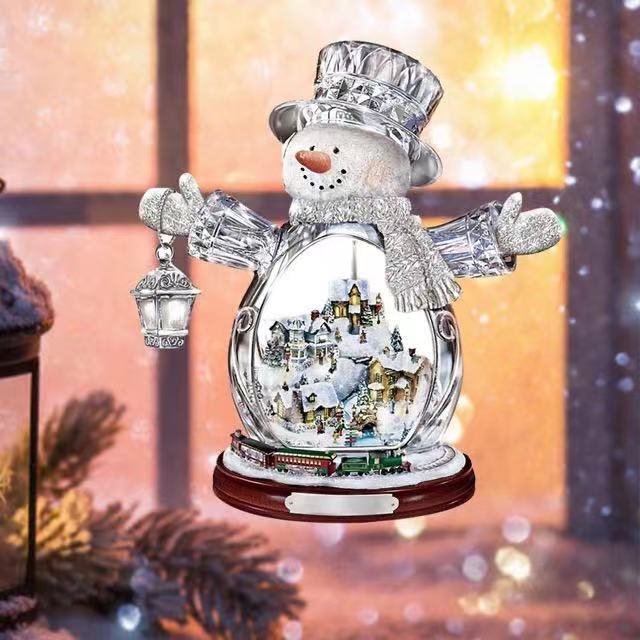 Wall Paintings-Wonderland Express:Animated Tabletop Christmas Tree With Train