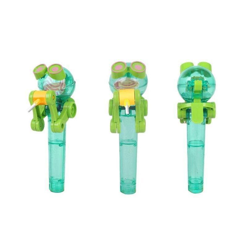 Artifact Eating Safe and Clean Robot Lollipop Holder Stand