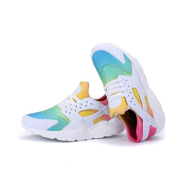 Mokoshoes Multicolor Lace-Up Sneakers