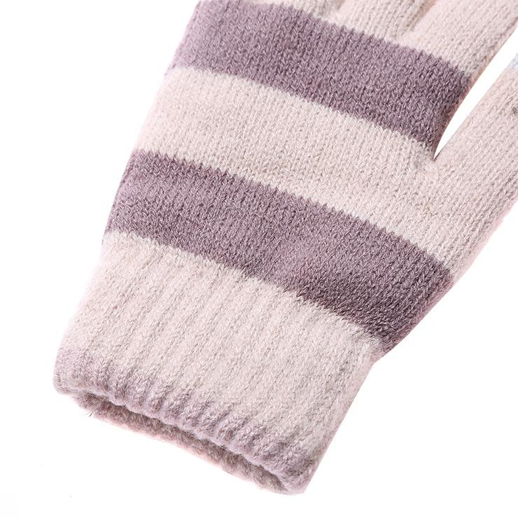 Unisex Winter Knitted acrylic touch screen cheap Gloves-1.9