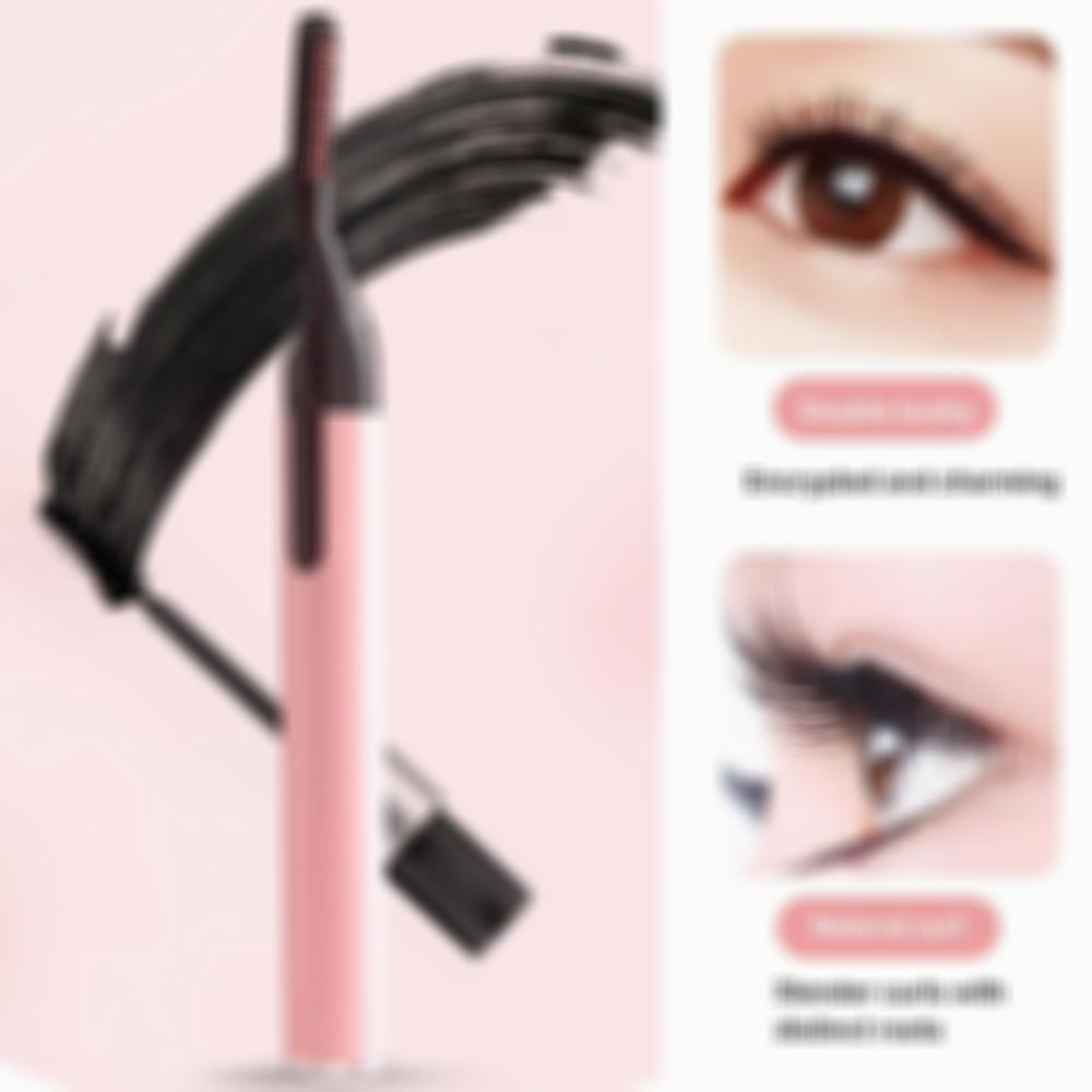 Long-Lasting Portable Electric Perm Heated Eyelash Curler
