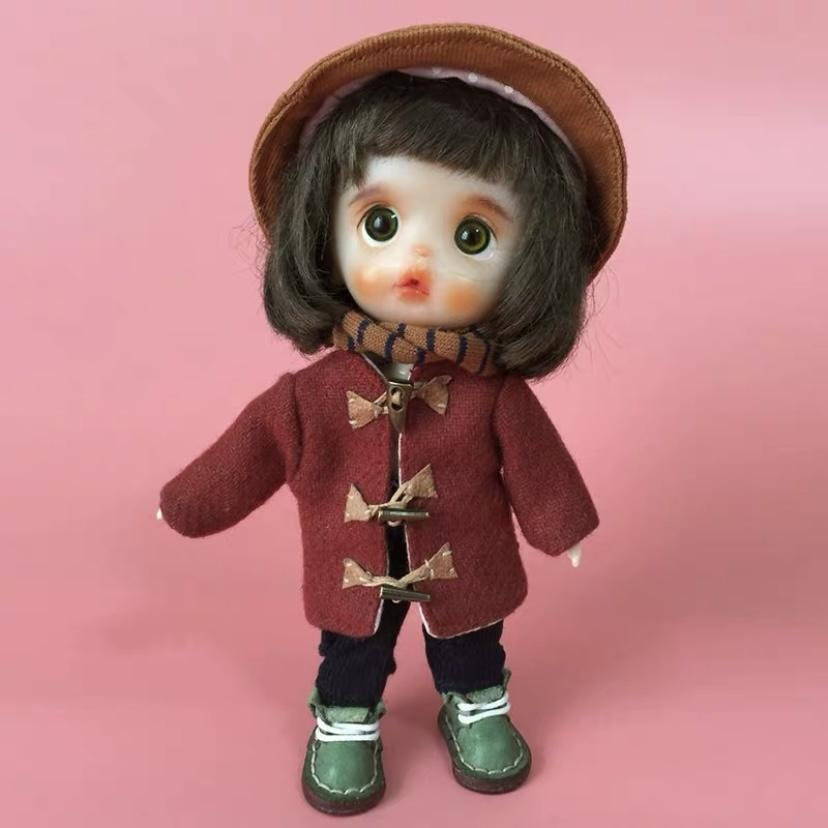 BJD - Luxury suit 18 Ball Jointed Doll DIY Toys with Handmade Clothes Outfit Shoes Wig Hair Makeup, Best Gift for Girls #12