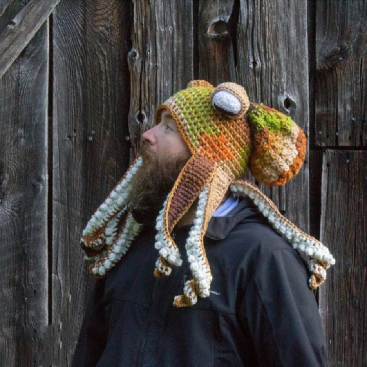 🌟Christmas Hot Sales🌟Octopus Hat