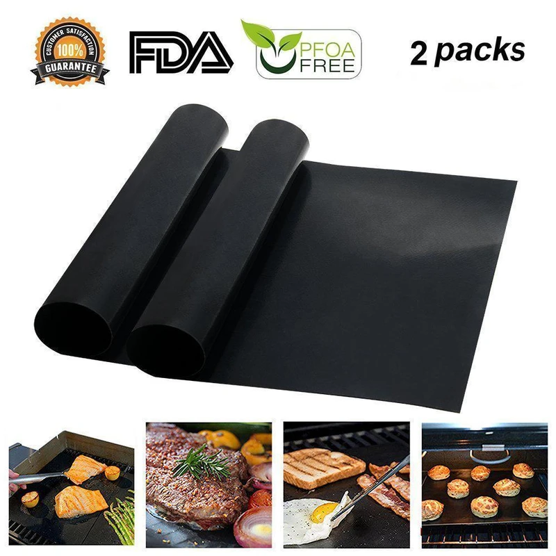 🎅40% off Christmas sale🧦(Buy 4 Free Shipping)-Non-Stick BBQ Baking Mats