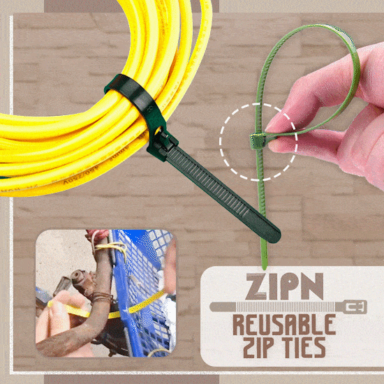 (🔥New Year Promotion-30% Off🔥) Reusable Zip Ties(100 PCS)
