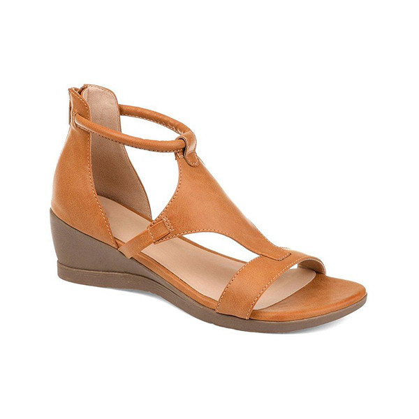 Upawear Women Casual Daily Wedge Sandals