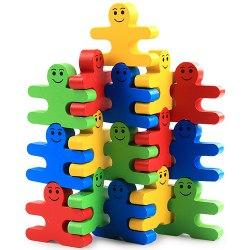 Baby Wooden Toys Blocks Balance Game Building Block -