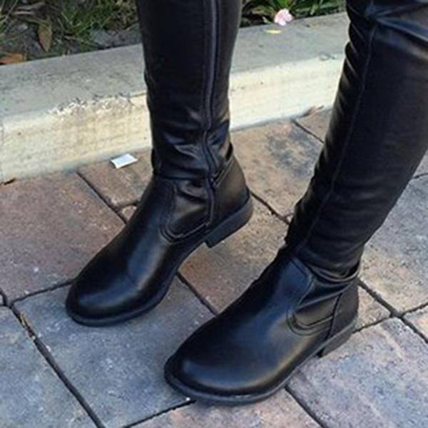 Mokoshoes Trendy Over The Knee Long Boots