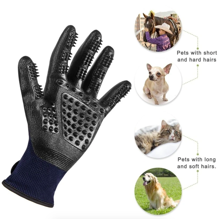 PET HAIR REMOVER GLOVES