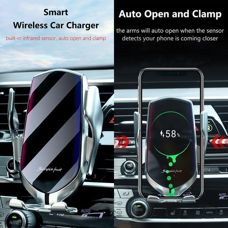 Wireless Automatic Sensor Car Charger [Buy 2 Free Shipping]
