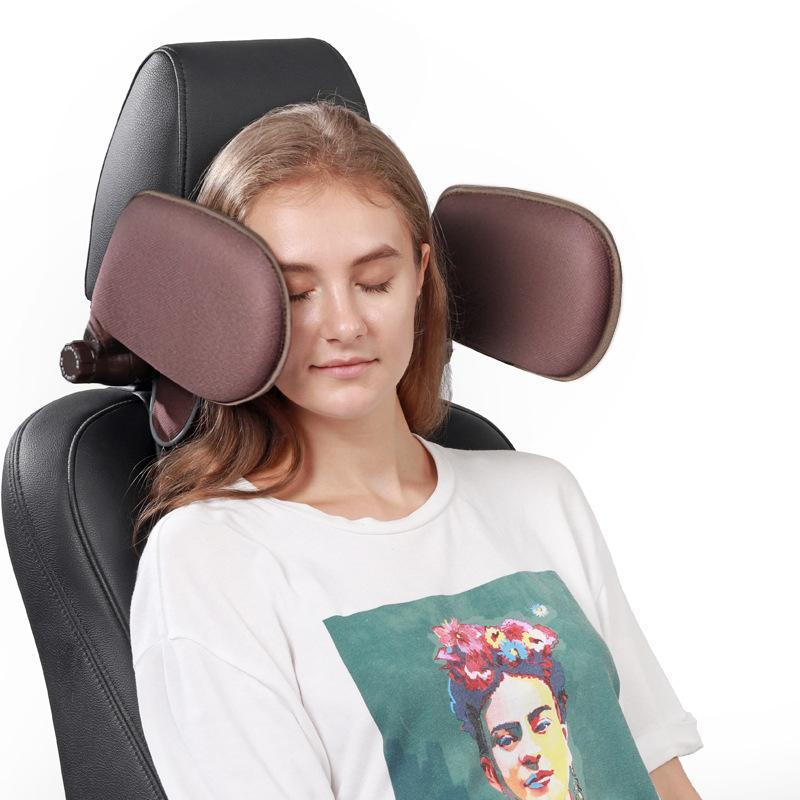 Car neck protector side pillow