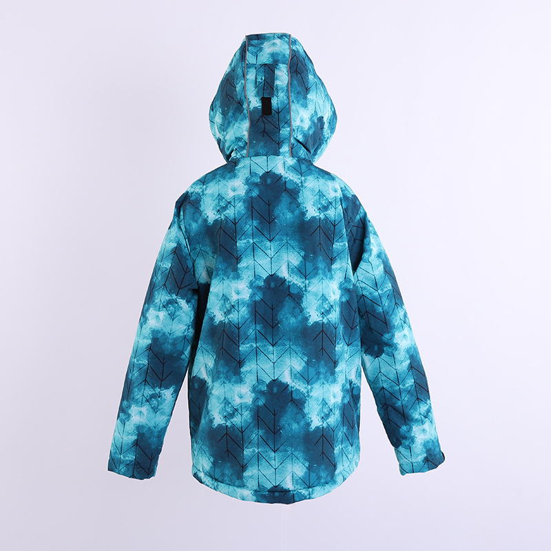 Children's clothing waterproof and cold-proof down jacket ski suit