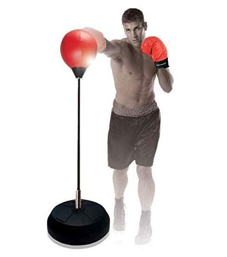 Boxing training gloves Bar