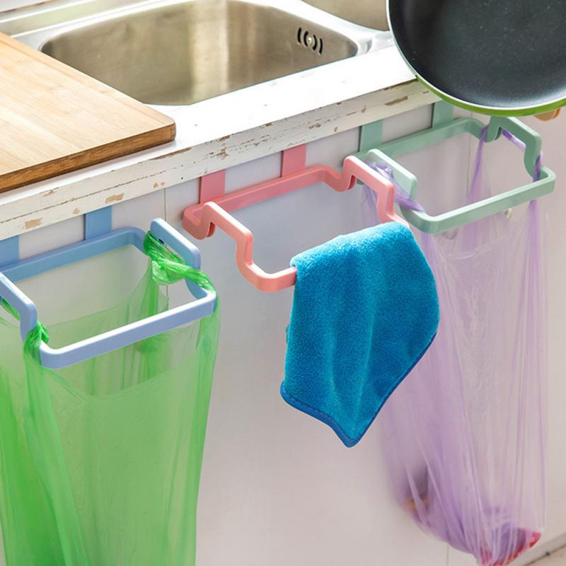 Portable Garbage Bag Rack