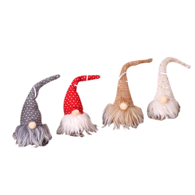 Long Beard Santa Claus Christmas Tree Decoration Light