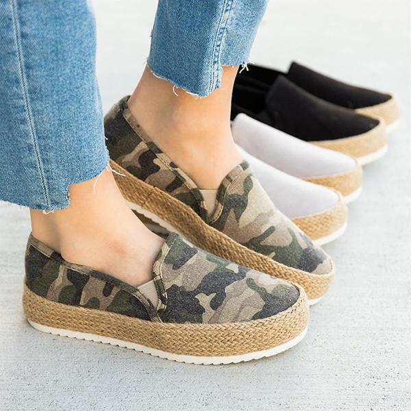 Bonnieshoes Perfect Espadrille Platform Sneakers